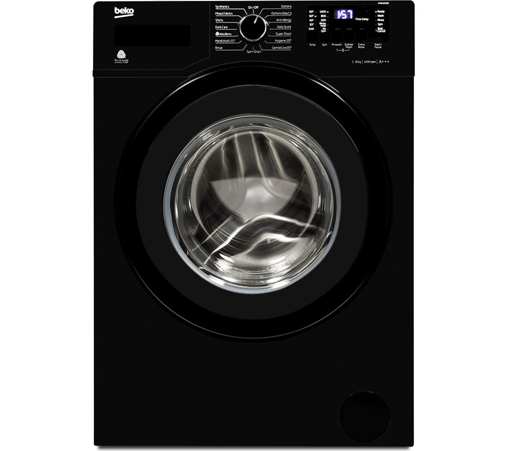 where is the serial number on a beko washing machine