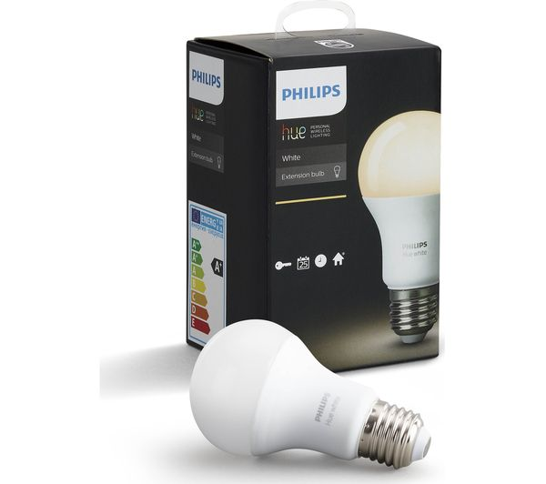 Philips Hue E14.Philips Hue White Smart Led Bulb E27 Currys 8718696449578 Ebay