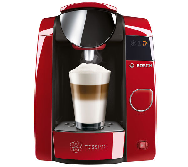 bosch tassimo joy tas4503gb hot drinks machine pod coffee auto shut off red ebay. Black Bedroom Furniture Sets. Home Design Ideas