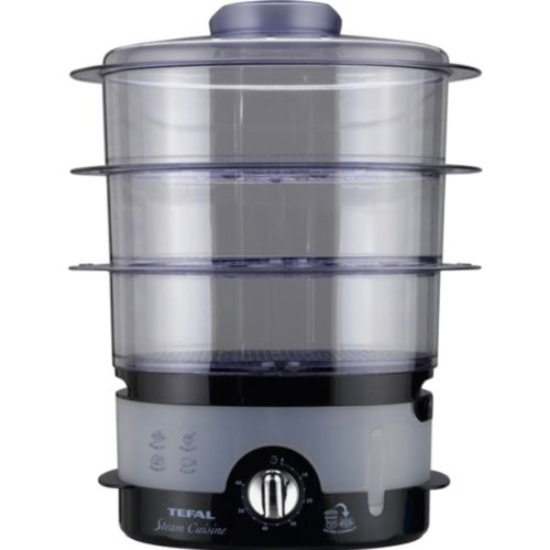 Tefal VC100715 Steam Cuisine Compact Steamer - 3 Tiers