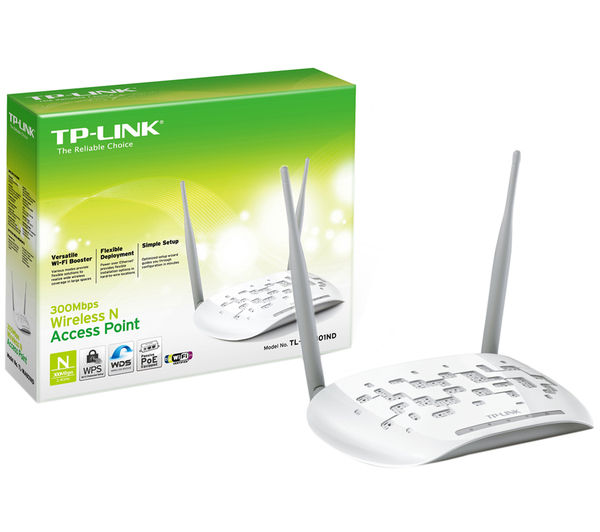 Details about TP-LINK TL-WA801ND WiFi Range Extender - N300, Single-band -  Currys