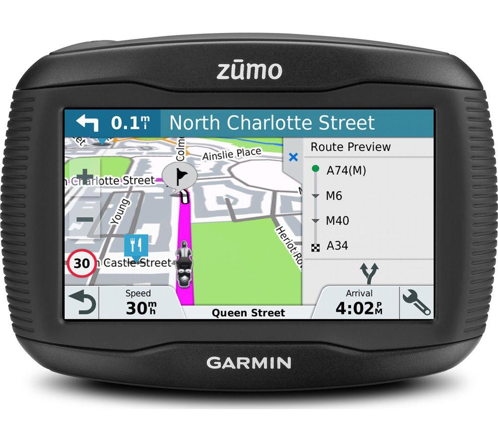 Details about GARMIN Zumo 345LM WE Motorcycle 4.3