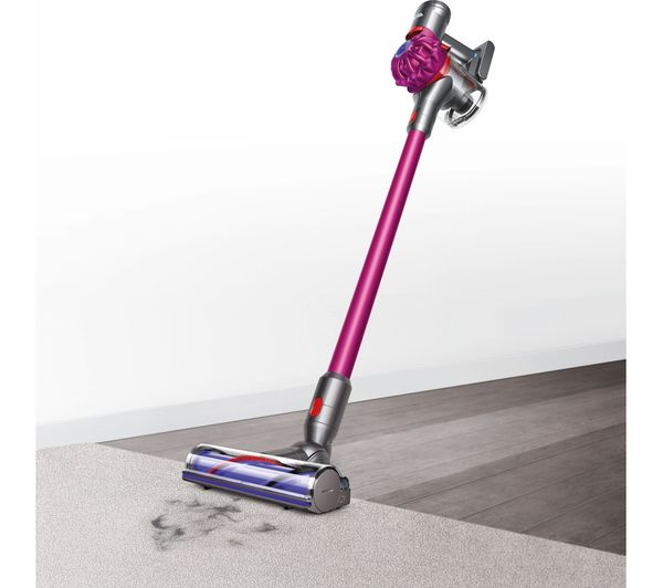 Dyson V7 Motorhead Cordless Bagless Vacuum Cleaner Pink