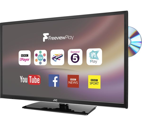 Jvc Lt 32c675 32 Smart Led Tv With Built In Dvd Player Currys