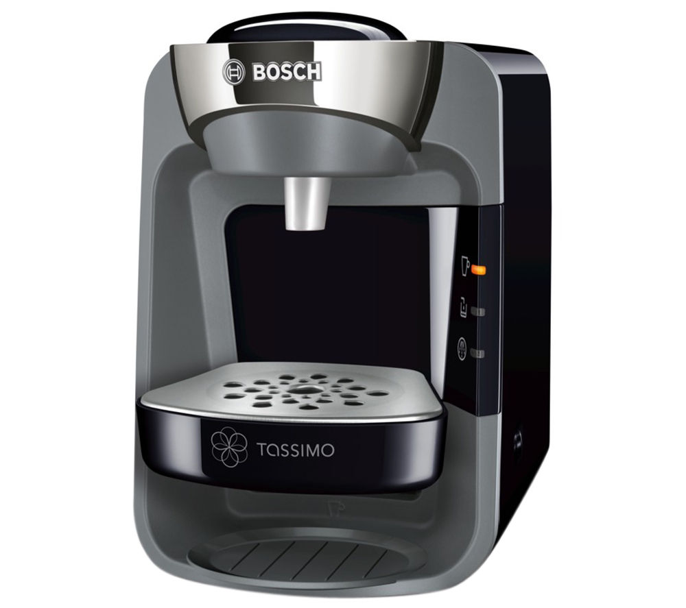 tassimo by bosch suny coffee machine black currys. Black Bedroom Furniture Sets. Home Design Ideas
