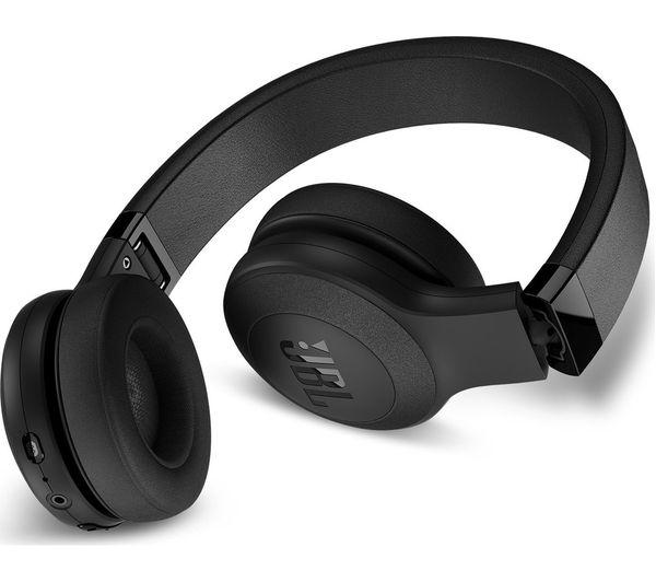 3280eb40b6d Sentinel JBL C45BT Wireless Bluetooth Headphones - Black - Currys