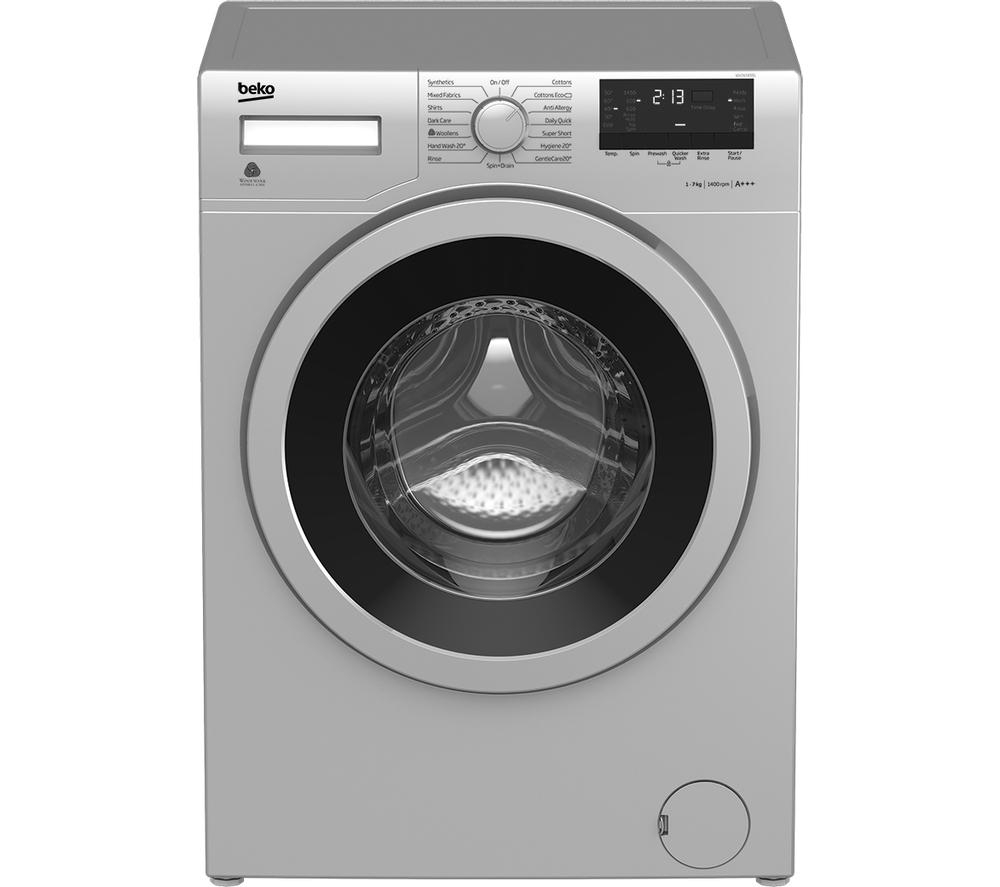 Beko Wx742430s Washing Machine 7kg Capacity 1400rpm A