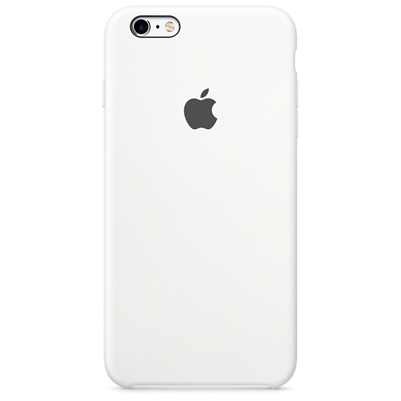 buy popular 1aecc 26b3a Details about iPhone 6 Plus / 6s Plus Silicone Case - White - Currys