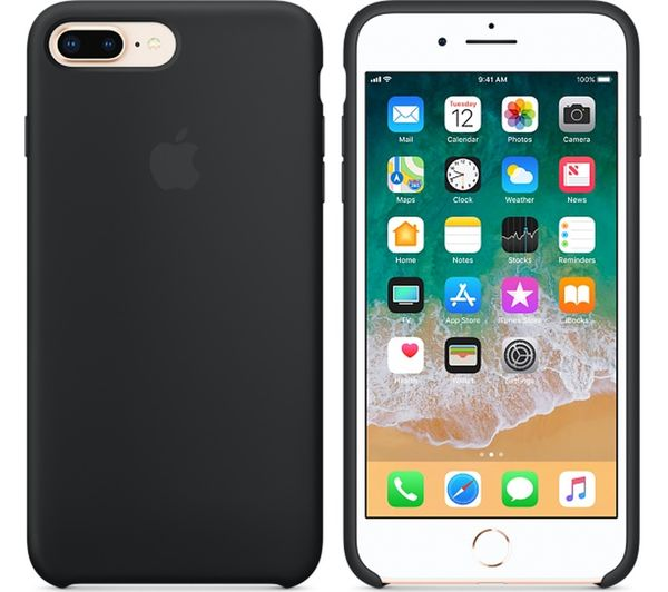 huge selection of bbccf 96568 Details about APPLE iPhone 8 & 7 Plus Silicone Case - Black - Currys
