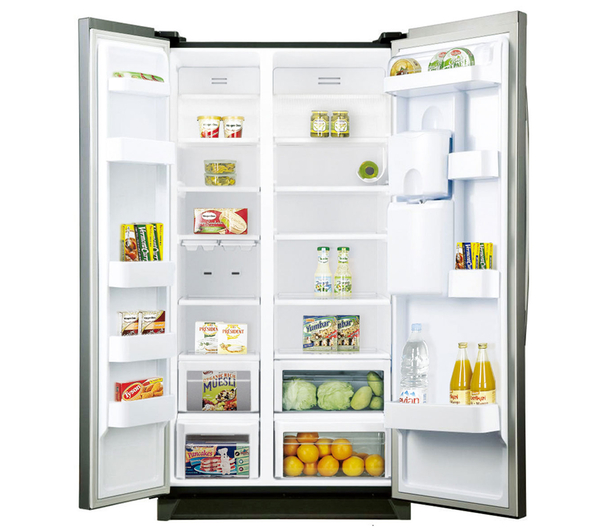 samsung fridge freezer. sentinel samsung rsa1rtpn american style fridge freezer silver energy rating a+ samsung n