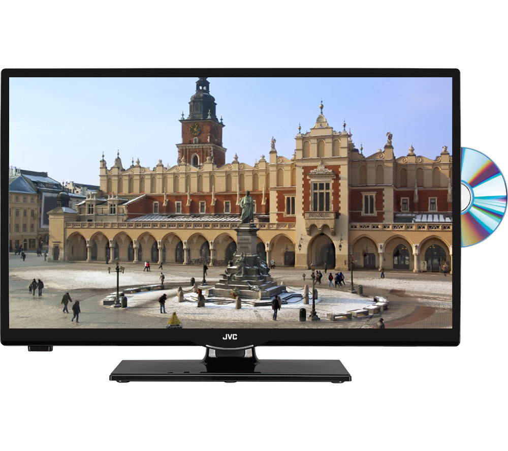 Jvc Lt 24c655 Smart 236 Led Tv With Built In Dvd Player Freeview