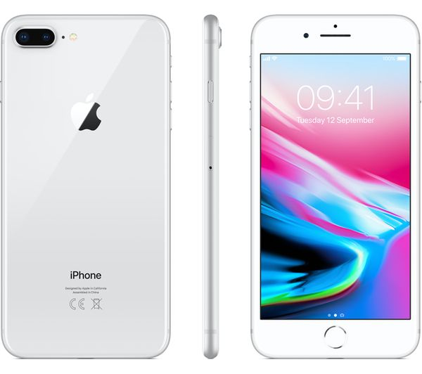online store 7634d 0275f Details about APPLE iPhone 8 Plus - 256 GB, Silver - Currys