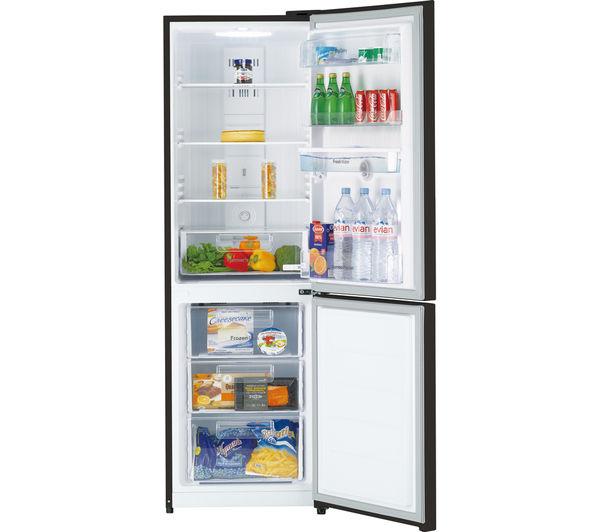 DAEWOO RN37DB Frost Free Fridge Freezer with Water Dispenser Black