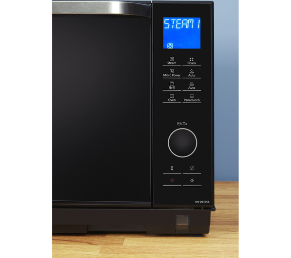 Sentinel Panasonic Nn Ds596bbpq Combination Microwave Black 27 Litres 1000 W