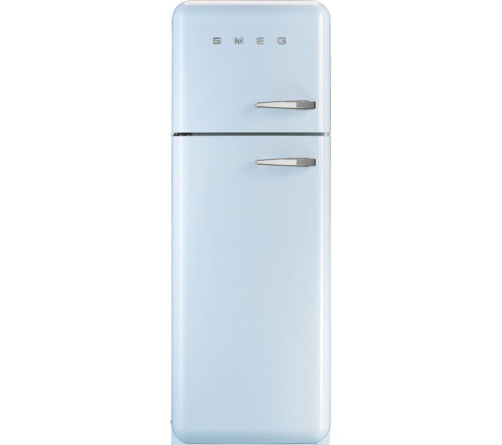 Sentinel Smeg Fab30lfa Fridge Freezer Pastel Blue