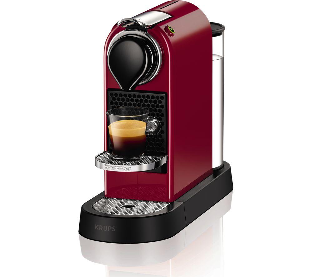 NESPRESSO by Krups CitiZ Coffee Machine 19-bar pressure Auto shut ...