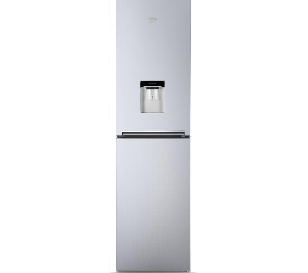 Sentinel Beko Cfg1582ds Freest Ing Frost Free Fridge Freezer Water Dispenser Silver