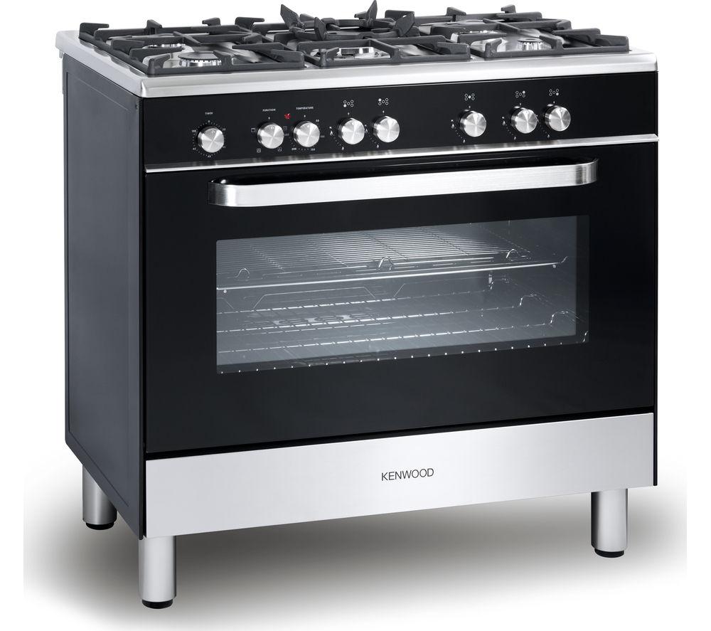 Kenwood Ck305 1 Dual Fuel Range Cooker Black