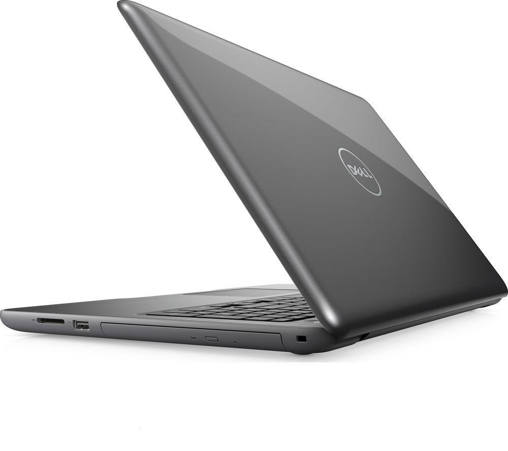 dell inspiron 15 5000 15 6 laptop fog grey intel core i5 7200u processor ebay. Black Bedroom Furniture Sets. Home Design Ideas