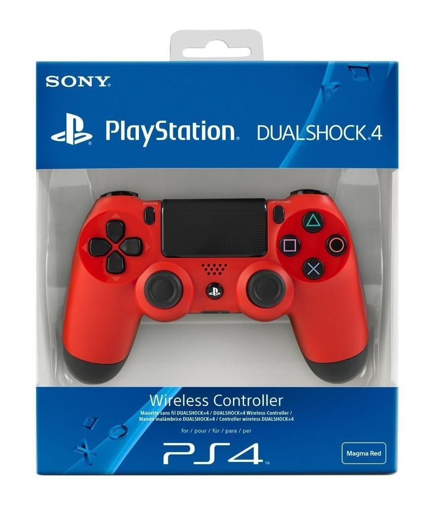 Sony PS4 Dualshock 4 V2 Magma Red Controller   eBay