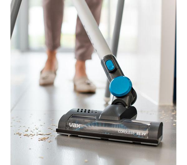 Sentinel VAX SlimVac Fur FluffTBTTV1B1 Cordless Vacuum Cleaner Titanium Blue