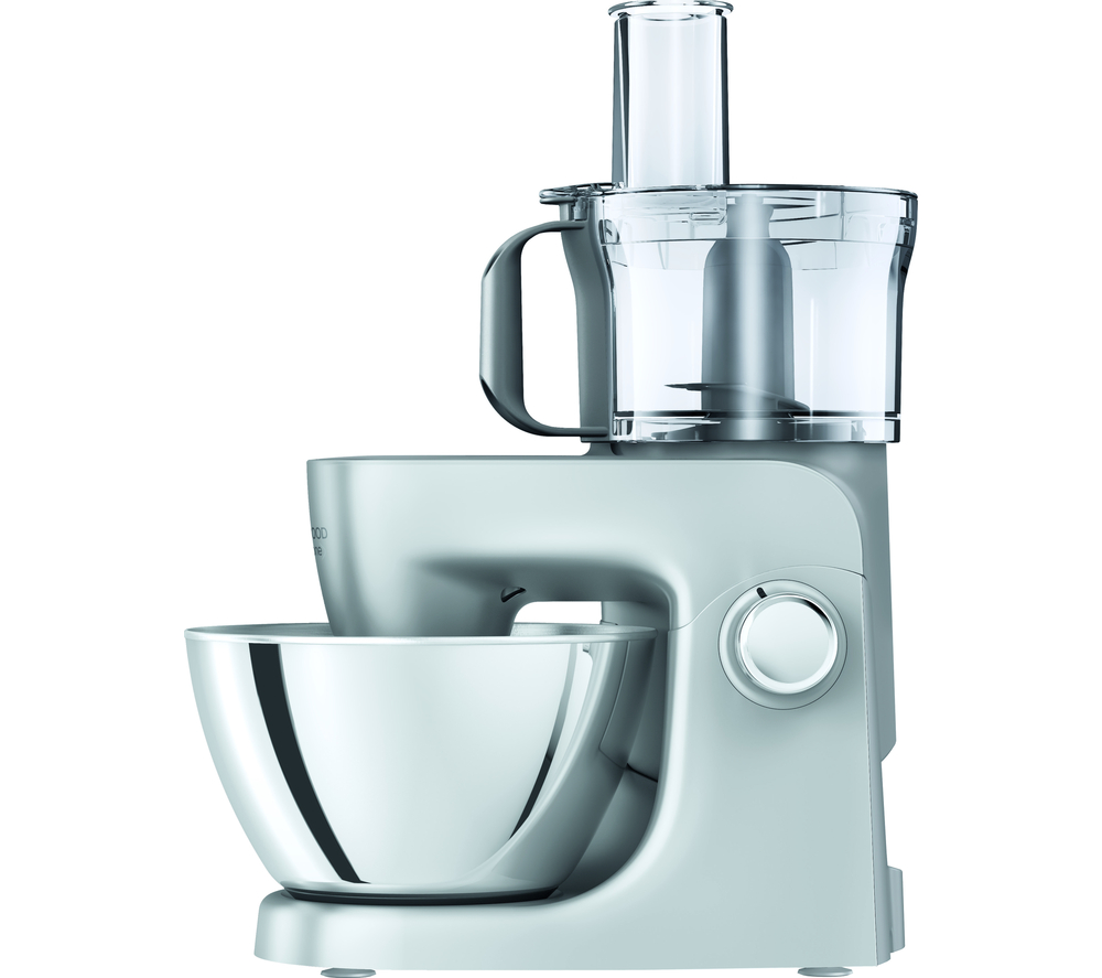 KENWOOD Multione KHH321SI St& Mixer Silver Stainless Steel 1000 W ...