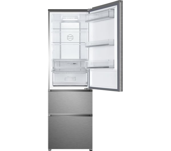 haier hb16fmaa 60 40 fridge freezer. sentinel haier a3fe635cmj 60/40 fridge freezer - stainless steel haier hb16fmaa 60 40