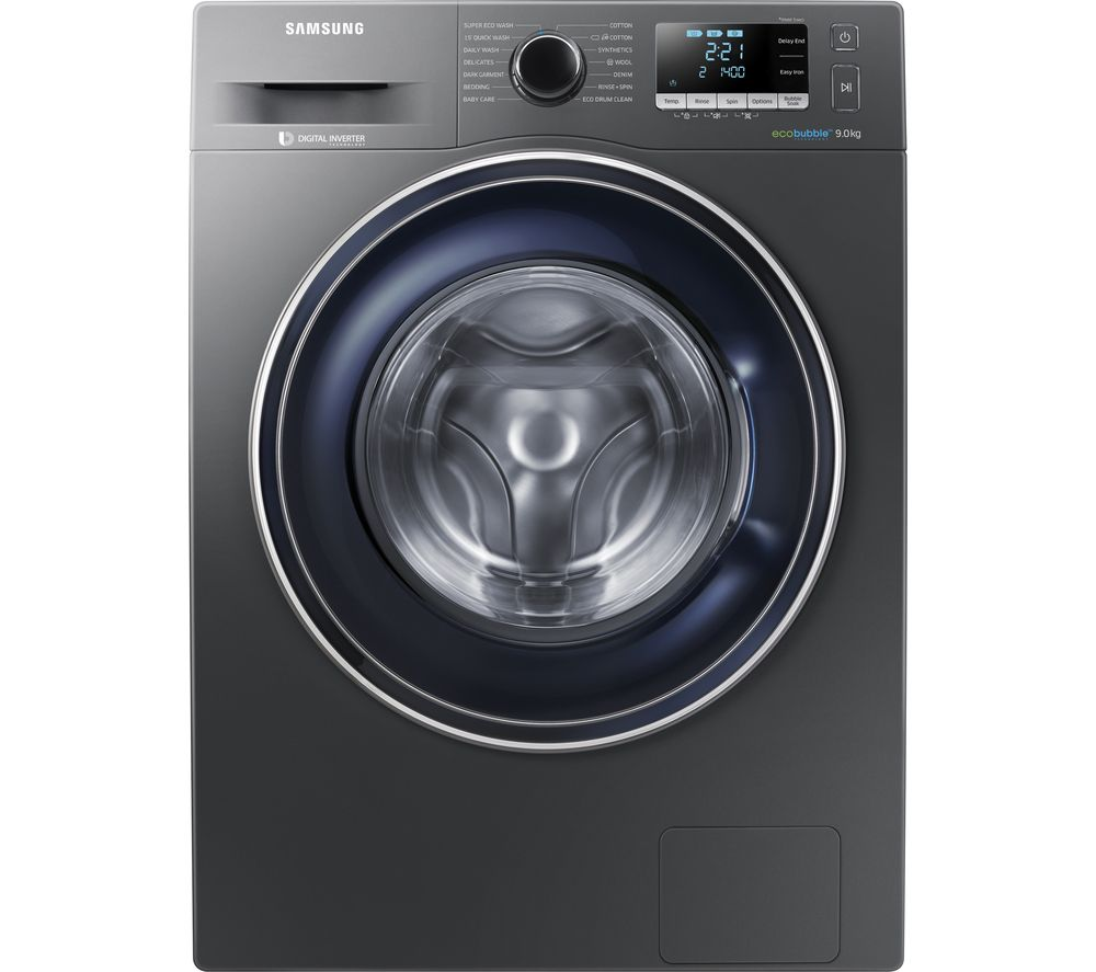 samsung ecobubble ww90j5456fx 9 kg 1400 spin washing. Black Bedroom Furniture Sets. Home Design Ideas