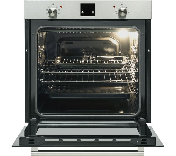 logik lblfanx17 electric oven inox black currys ebay