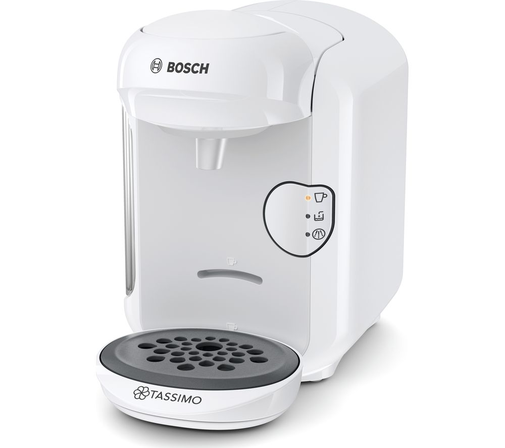 Tassimo bosch vivy2 tas1404gb hot drinks machine white for Perfect drink pro review