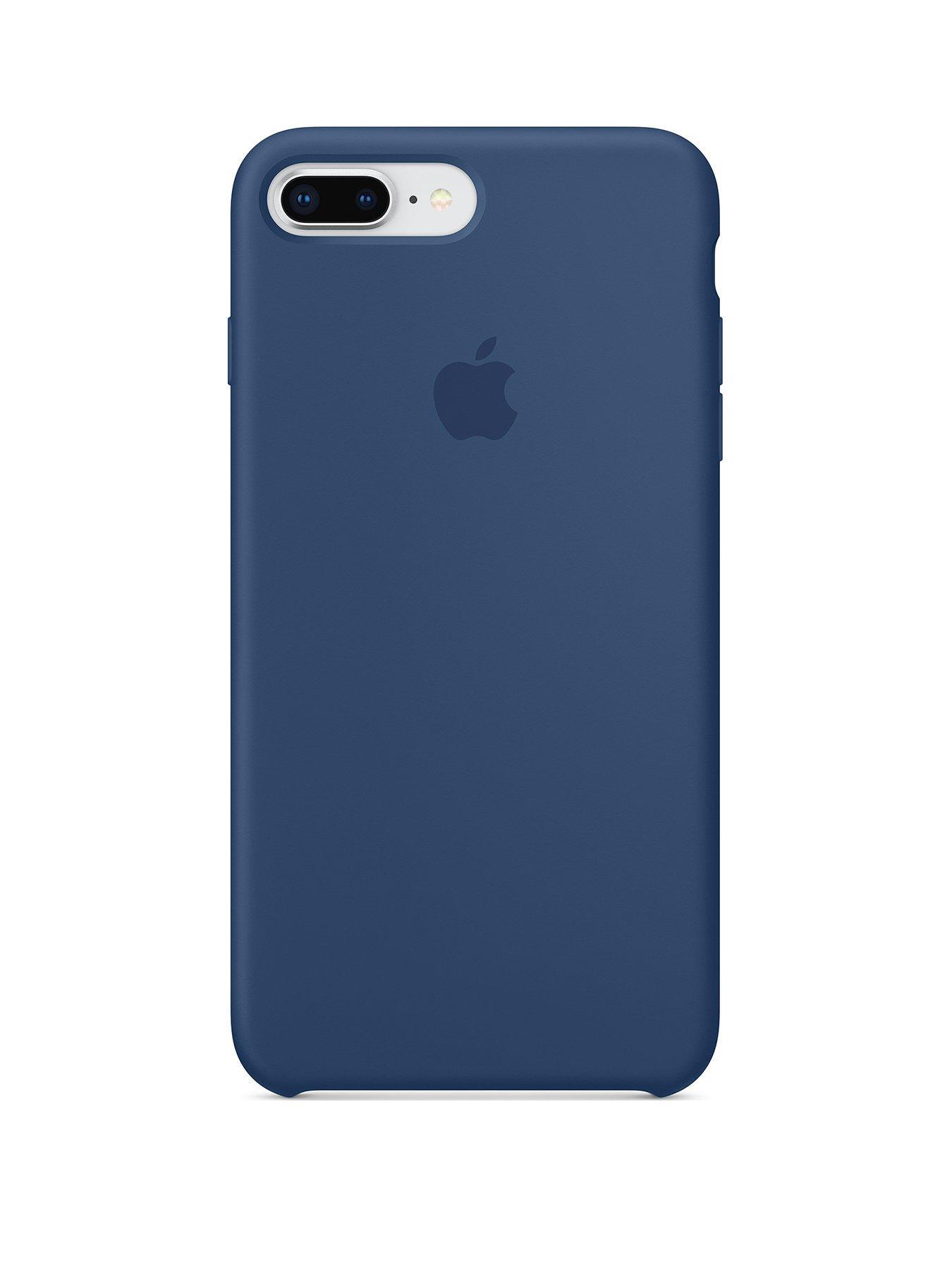 sports shoes 0fb74 45838 Details about Apple Silicone Case for iPhone 8 Plus / 7 Plus - Blue Cobalt  - Currys