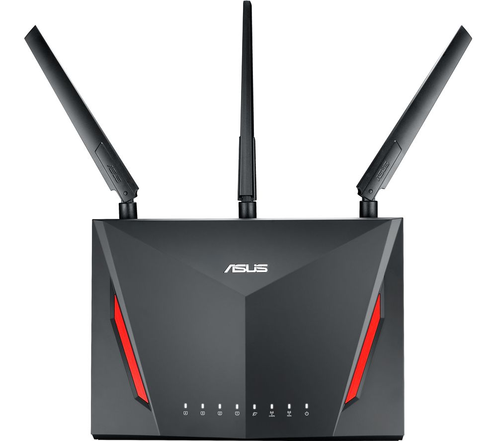 ASUS RT-AC86U WiFi Modem Router - AC 2900, Dual-band 4712900663501 ...