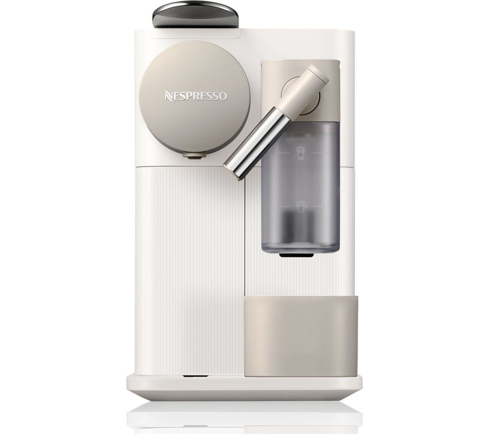 nespresso by de 39 longhi lattissima one en500 w coffee machine white ebay. Black Bedroom Furniture Sets. Home Design Ideas