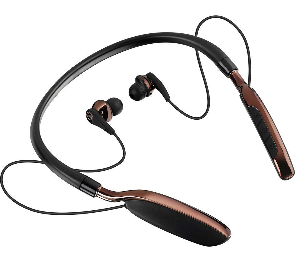 9c857c2a151 Sentinel GOJI COLLECTION GTCNBBT17 Wireless Bluetooth Headphones Black &  Brown