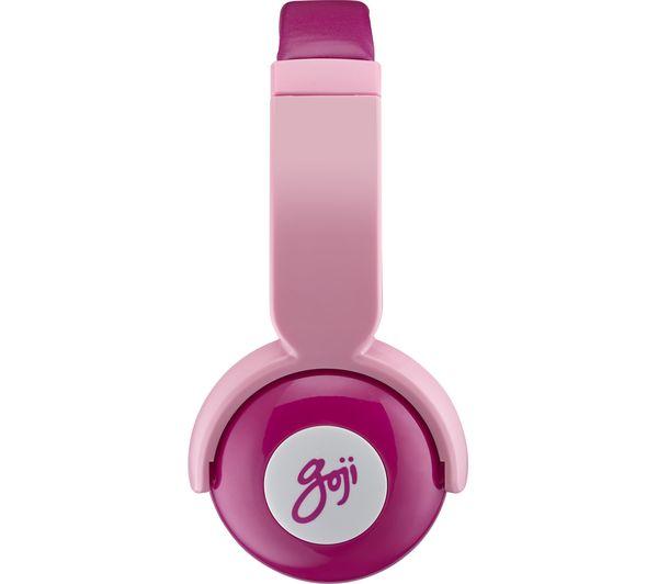 4aede6967b8 Sentinel GOJI GKIDBTP18 Wireless Bluetooth Kids Headphones - Pink - Currys