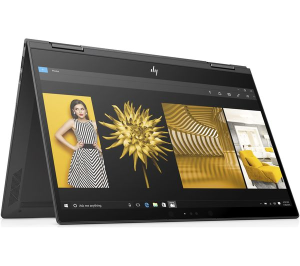 HP ENVY x360 13.3 Inch AMD Ryzen 5 2 in 1 - 128 GB SSD, Grey - Currys