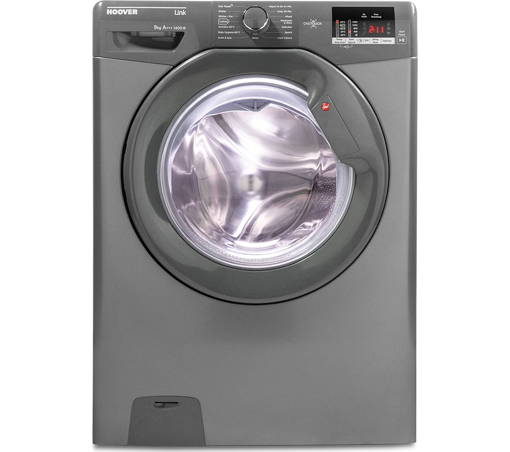 Hoover Link Dhl 1492dr3r Nfc 9 Kg 1400 Spin Washing Machine Wiring Diagram Sentinel Graphite Currys