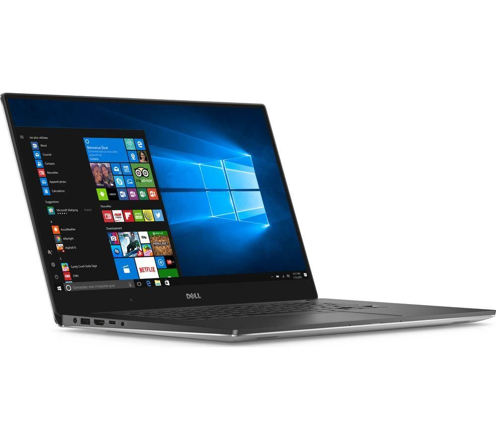 DELL XPS 15 15.6 Inch Intel® Core™ i5 Laptop - 1 TB HDD & 128 GB SSD, Silver -