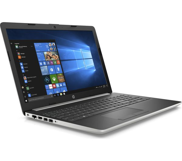 HP 15-da0511sa 15.6 Inch Intel® Core™ i3 Laptop - 1 TB HDD, Silver - Currys