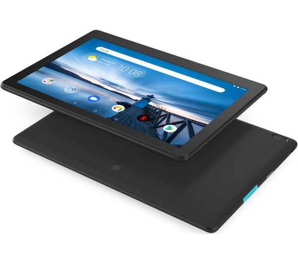 LENOVO Tab E10 Tablet - 16 GB, Black - Currys