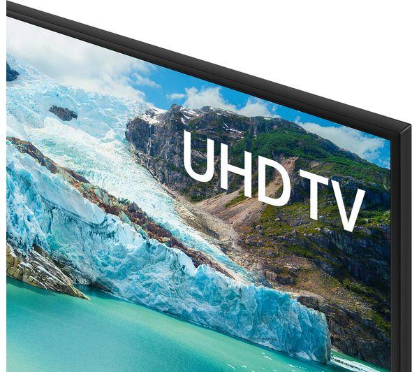 "SAMSUNG UE50RU7020KXXU 50"" Smart 4K Ultra HD HDR LED TV - Currys 4"