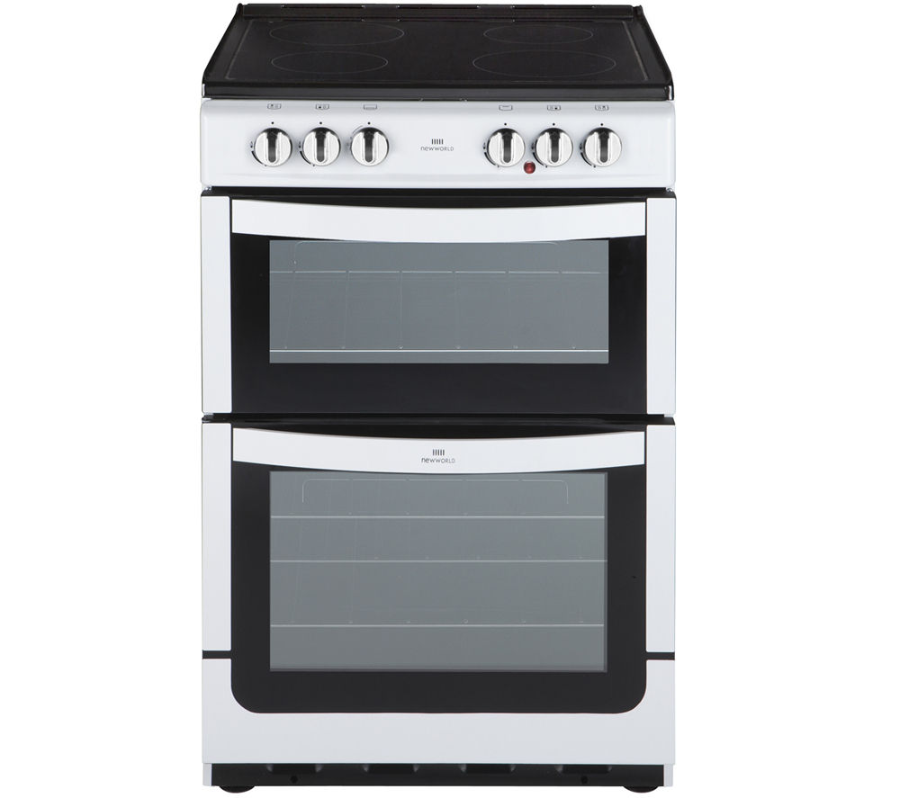 new world nw551etc 55 cm electric cooker white currys rh ebay co uk Latest News new world 600tsidlm gas cooker manual