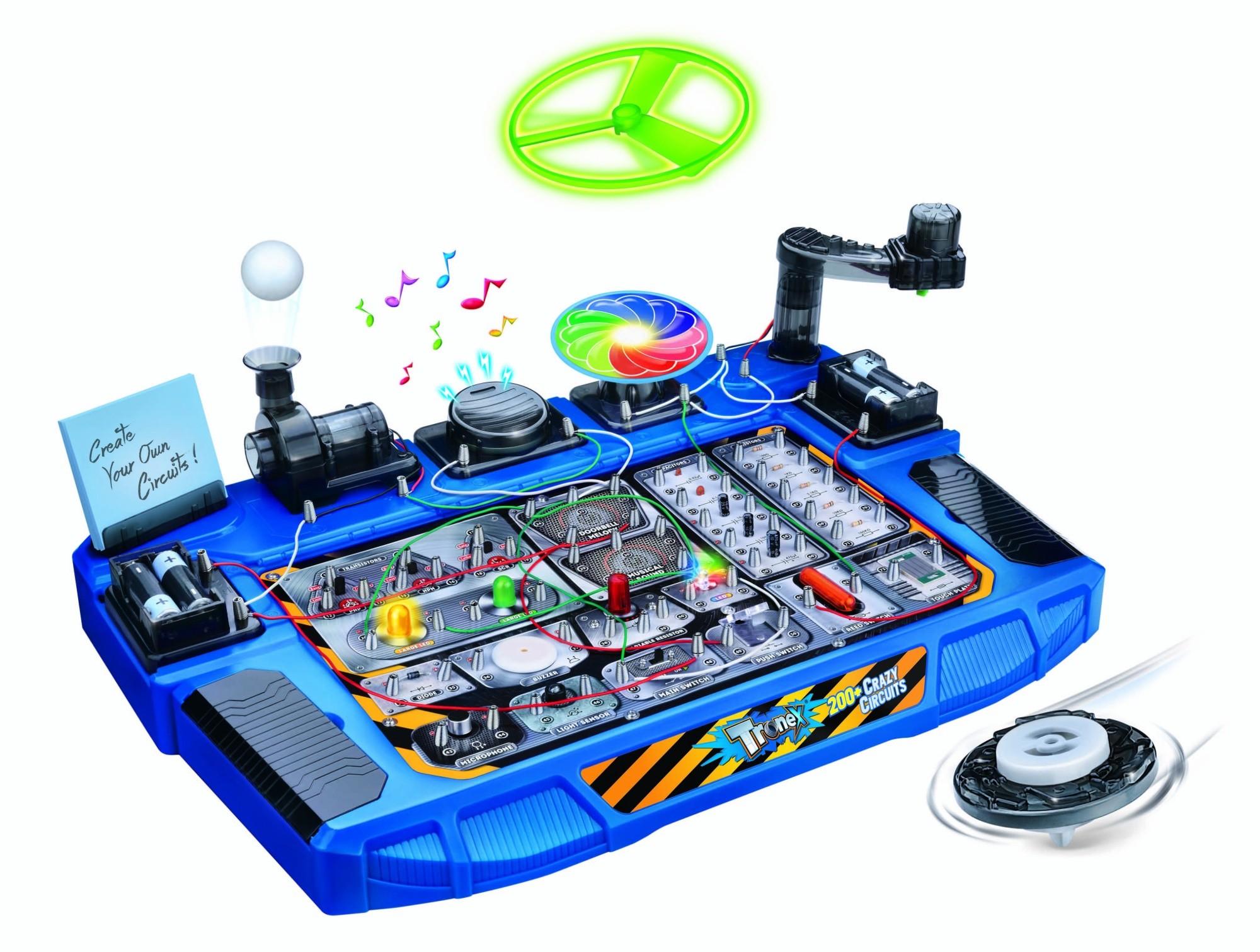 Unique Engineering Toys For Kids Images Children Ideas Amazoncom Elenco Circuit Maker 200 Sound Plus Electronics Discovery Tronex Crazy Circuits 31 Parts Electronic Kit