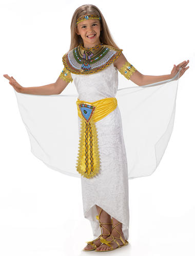 Girls Cleopatra Queen Of The Nile Fancy Dress Child Costume