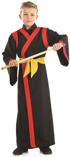 Samurai-Boys-Fancy-Dress-National-Japanese-Martial-Arts-  sc 1 st  eBay & Samurai Boys Fancy Dress National Japanese Martial Arts Warrior Kids ...