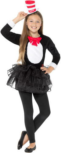 Cat In The Hat or Thing 1   2 Kids Fancy Dress Dr Seuss Book Day ... 54570043987