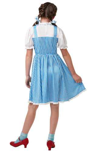 Dorothy-Girls-Fancy-Dress-World-Book-Day-Wizard-Of-Oz-Childrens-Kids-Costume-New thumbnail 4