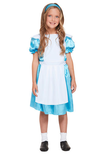 Alice-in-Wonderland-Girls-Fancy-Dress-Storybook-Fairytale-Kids-Childrens-Costume thumbnail 22