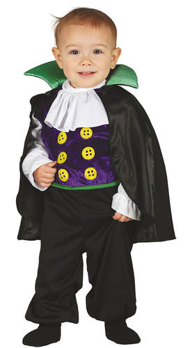 Baby-Halloween-Fancy-Dress-Little-Spooky-Monster-Animal-Vampire-Toddler-Costumes thumbnail 11