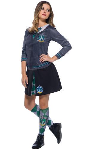 Harry-Potter-Top-Ladies-Fancy-Dress-Hogwarts-Uniform-Adults-Book-Day-Costumes thumbnail 5